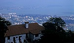 Blick auf George Town, South Street und Butterworth - Penang Hill