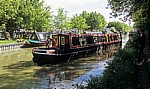 Grand Union Canal Leicester Line: Anlegen eines Narrowboats - Crick