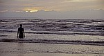 Kunstinstallation: Another Place (Antony Gormley) - Crosby