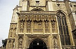 The Cathedral of Christ Church (Canterbury Cathedral, Kathedrale): Haupteingang - Canterbury